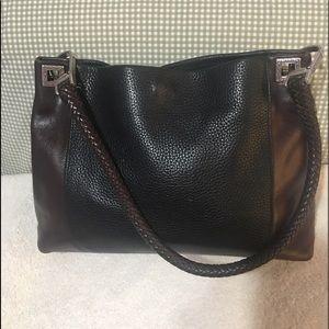 Brighton Hobo braided leather bag